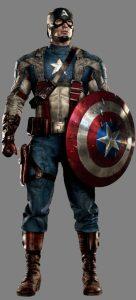 1st avenger suit